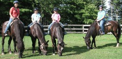 Family fun on horses at Arrowmont Stables